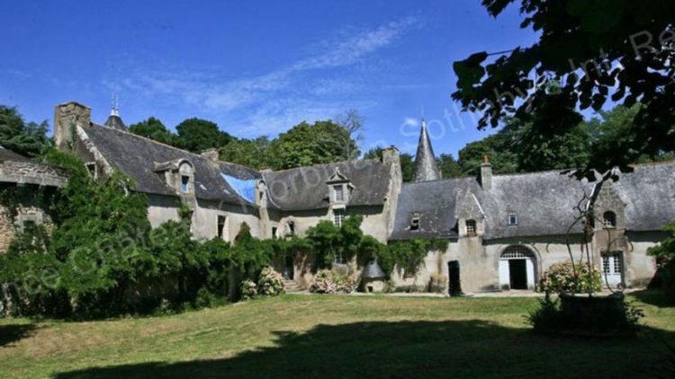 mansão em Morbihan, França