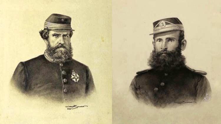Guerra do Paraguai: Dom Pedro II e Deodoro da Fonseca