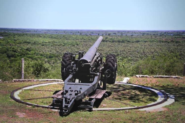 Canhão forte coimbra - Mato Grosso do Sul
