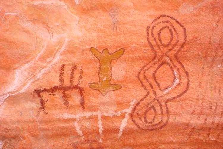 Arte rupestre em Alcinópolis-MS