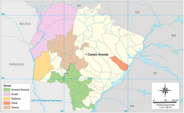 Indígenas de Mato Grosso do Sul