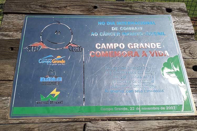 Praças das Águas em Campo Grande/MS