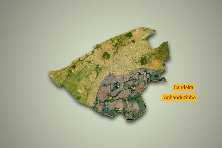 Um giro na sua região – Bandeira e Anhanduizinho
