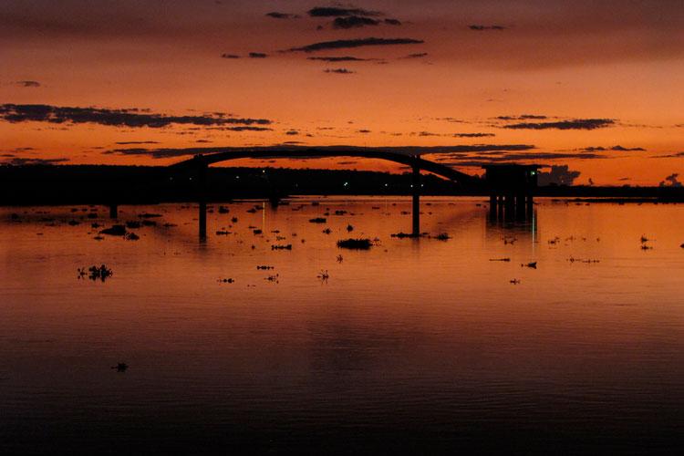Rio Paraguai faz parte da beleza de Corumbá