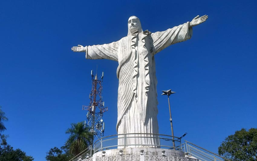 Pontos turísticos em Corumbá