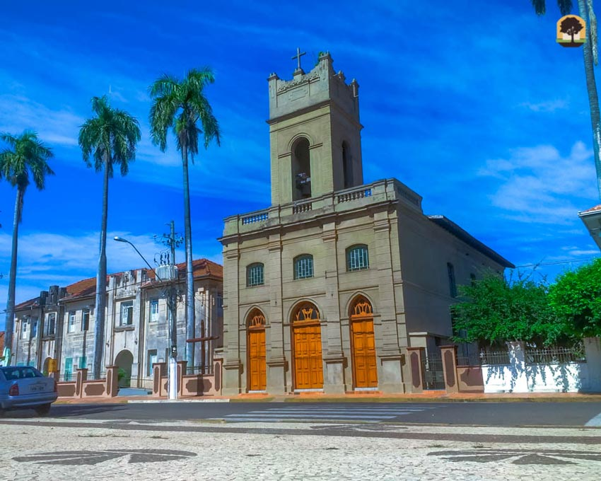 Igreja em Miranda-MS