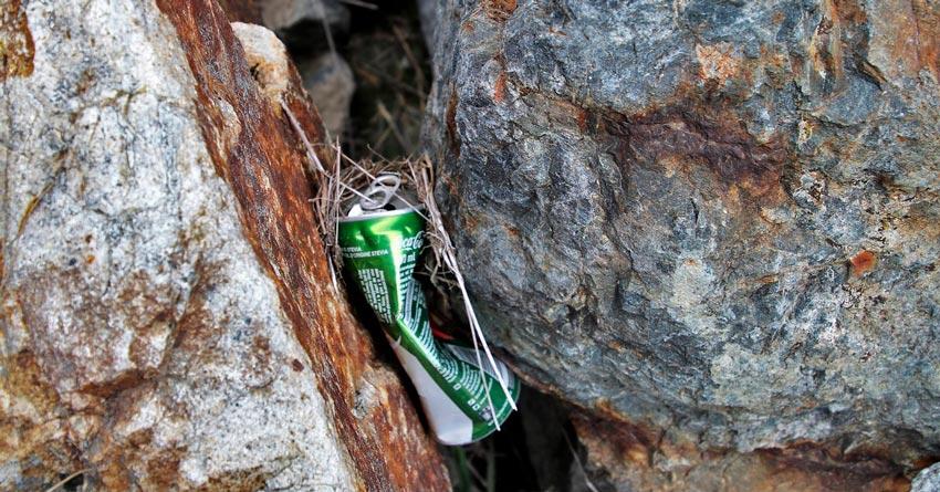 Reciclar alumínio – separe as latinhas