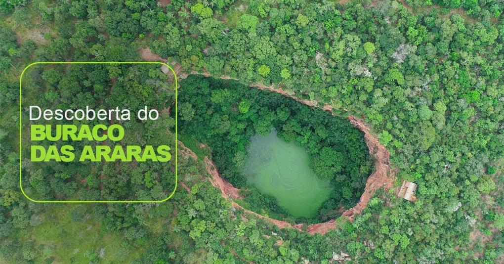 Buraco das Araras – História da descoberta